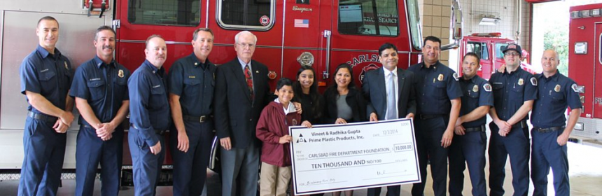 Gupta Family Donates $10,000 to CFDF